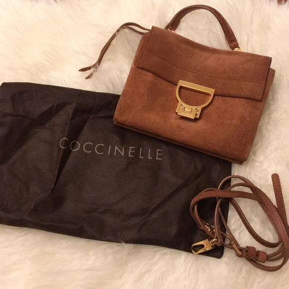 Suche nach Beamten große Vielfalt Modelle neuesten Stil Coccinelle suede leather bag